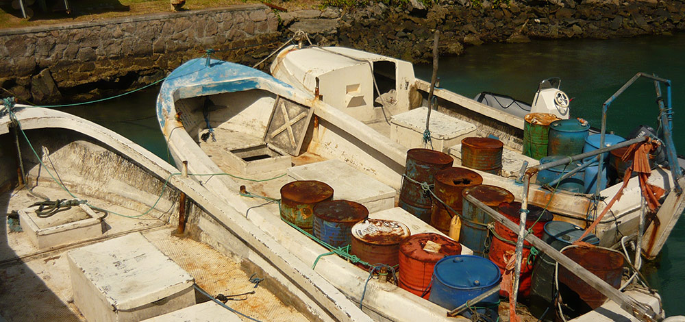 Pirate Boats Captured Off The Seychelles